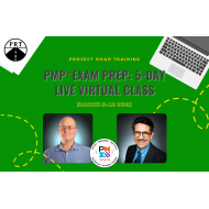 PMP® - VIRTUAL Instructor Led, 5-Day Exam Prep Boot Camp, March 8th-13th, 8:30-5PM - Enter Code - DCPMP15V for 15% Discount